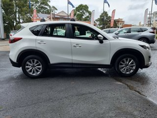 2016 Mazda CX-5 KE1022 Maxx SKYACTIV-Drive i-ACTIV AWD Sport White 6 Speed Sports Automatic Wagon