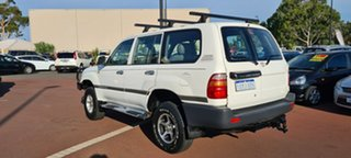 2000 Toyota Landcruiser HZJ105R Standard White 5 Speed Manual Wagon