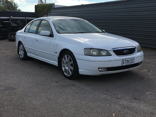 Used Ford Fairmont BA Ghia Blair Athol, 2003 Ford Fairmont BA Ghia 4 Speed Automatic Sedan