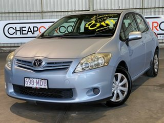 2011 Toyota Corolla ZRE152R MY11 Ascent Blue 4 Speed Automatic Hatchback.
