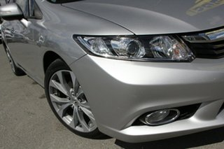 2012 Honda Civic 9th Gen Ser II Sport Albaster Silver/black 5 Speed Sports Automatic Sedan.