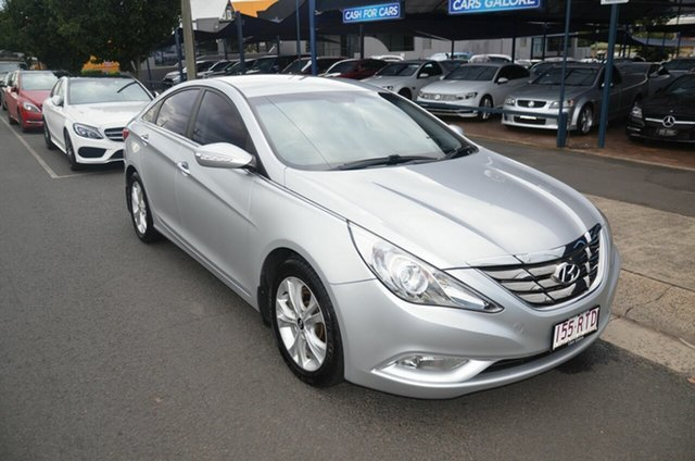 Used Hyundai i45 YF MY11 Elite Toowoomba, 2011 Hyundai i45 YF MY11 Elite Silver 6 Speed Automatic Sedan