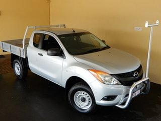 2015 Mazda BT-50 MY13 XT Hi-Rider (4x2) Silver 6 Speed Manual Freestyle Cab Chassis
