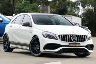 2016 Mercedes-Benz A-Class W176 806MY A45 AMG SPEEDSHIFT DCT 4MATIC White 7 Speed.