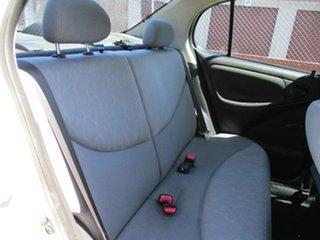 2005 Toyota Echo NCP12R MY03 White 5 Speed Manual Sedan