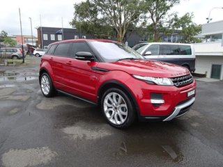 2011 Land Rover Range Rover Evoque L538 MY12 SD4 CommandShift Dynamic Firenze Red 6 Speed Automatic.