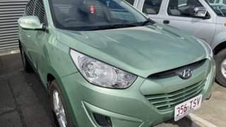 2012 Hyundai ix35 LM MY12 Active Green 6 Speed Sports Automatic Wagon.