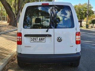 2010 Volkswagen Caddy 2KN MY11 TDI250 Maxi White 5 Speed Manual Van