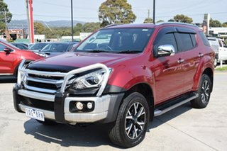 2019 Isuzu MU-X MY19 LS-T Rev-Tronic Red/Black 6 Speed Sports Automatic Wagon