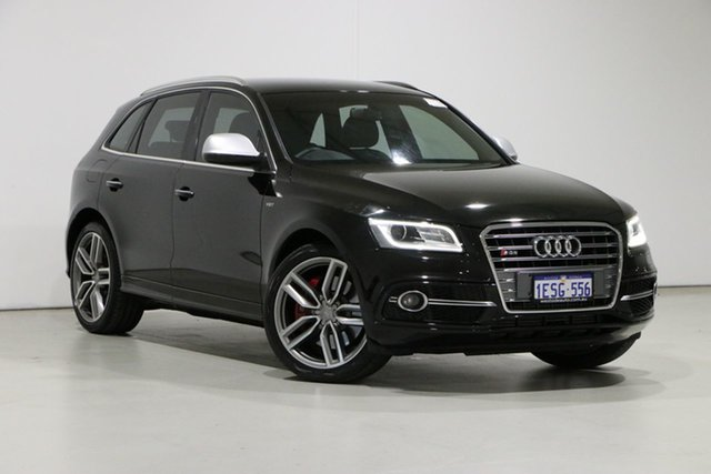 Used Audi SQ5 8R MY14 3.0 TDI Quattro Bentley, 2014 Audi SQ5 8R MY14 3.0 TDI Quattro Black 8 Speed Automatic Wagon