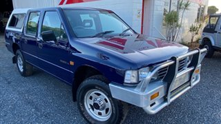 1996 Holden Rodeo LX 4x4 Blue 5 Speed Manual Dual Cab.