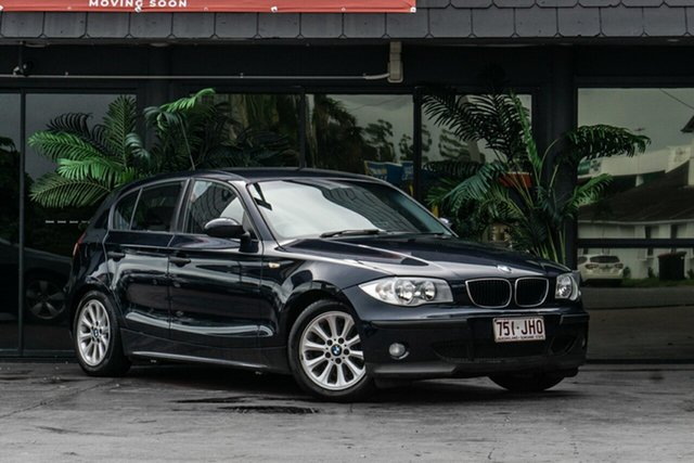 Used BMW 118i E87 118i Bowen Hills, 2005 BMW 118i E87 118i Blue 6 Speed Automatic Hatchback