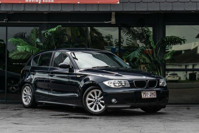 Used BMW 118i E87 118i Bowen Hills, 2005 BMW 118i E87 118i Blue 6 Speed Automatic Hatchback