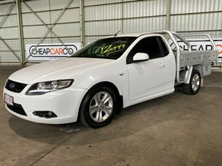 2009 Ford Falcon FG R6 Ute Super Cab White 5 Speed Sports Automatic Utility