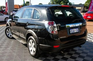 2012 Holden Captiva CG Series II MY12 7 SX Black 6 Speed Sports Automatic Wagon.