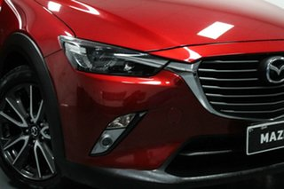 2016 Mazda CX-3 DK2W76 sTouring SKYACTIV-MT Red 6 Speed Manual Wagon