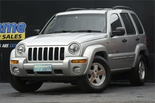 2003 Jeep Cherokee KJ MY2003 Limited Silver 4 Speed Automatic Wagon.