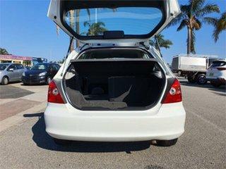 2001 Honda Civic 7th Gen VI White 4 Speed Automatic Hatchback