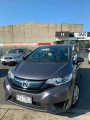2015 Honda Jazz GK MY15 VTi Grey Continuous Variable Hatchback.