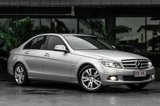 Used Mercedes-Benz C-Class W203 MY2007 C200 Kompressor Avantgarde Bowen Hills, 2007 Mercedes-Benz C-Class W203 MY2007 C200 Kompressor Avantgarde Silver 5 Speed Sports Automatic