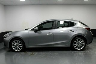 2014 Mazda 3 BM5438 SP25 SKYACTIV-Drive GT Silver 6 Speed Sports Automatic Hatchback