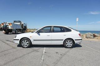 2003 Hyundai Elantra XD GL White 5 Speed Manual Hatchback