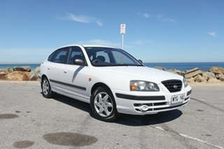 2003 Hyundai Elantra XD GL White 5 Speed Manual Hatchback.