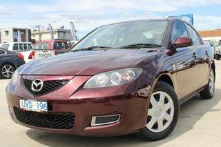 2007 Mazda 3 BK10F2 Neo Purple 4 Speed Sports Automatic Sedan.