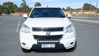 2013 Holden Colorado RG MY14 LX Crew Cab 4x2 White 6 Speed Sports Automatic Utility.