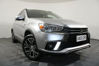 2018 Mitsubishi ASX XC MY18 LS 2WD Sterling Silver 1 Speed Constant Variable Wagon