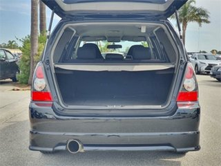 2006 Subaru Forester SG9 STi Black Manual Wagon