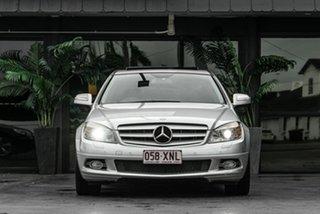 2007 Mercedes-Benz C-Class W203 MY2007 C200 Kompressor Avantgarde Silver 5 Speed Sports Automatic.