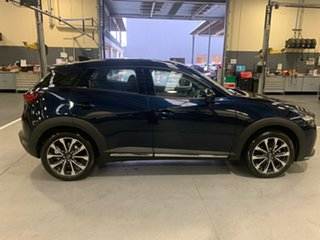 2021 Mazda CX-3 DK4W7A Akari SKYACTIV-Drive i-ACTIV AWD Deep Crystal Blue 6 Speed Sports Automatic