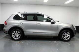2015 Volkswagen Touareg 7P MY15 150TDI Tiptronic 4MOTION Silver 8 Speed Sports Automatic Wagon