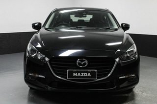 2017 Mazda 3 BN5478 Maxx SKYACTIV-Drive Black 6 Speed Sports Automatic Hatchback