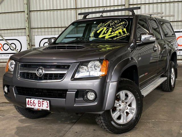 Used Holden Colorado RC MY09 LT-R Crew Cab Rocklea, 2009 Holden Colorado RC MY09 LT-R Crew Cab Grey 4 Speed Automatic Utility