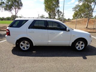 2009 Ford Territory SY MkII TX AWD White 6 Speed Sports Automatic Wagon