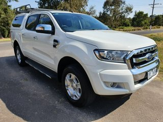 2016 Ford Ranger PX MkII XLT Hi-Rider White Sports Automatic Utility.