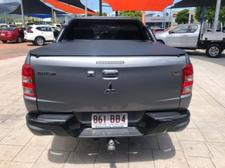 2017 Mitsubishi Triton MQ MY17 GLS Double Cab Sports Edition Grey 5 Speed Sports Automatic Utility