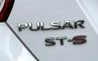2013 Nissan Pulsar C12 ST-S White 6 Speed Manual Hatchback
