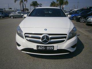 2014 Mercedes-Benz A-Class W176 A180 D-CT White 7 Speed Sports Automatic Dual Clutch Hatchback.