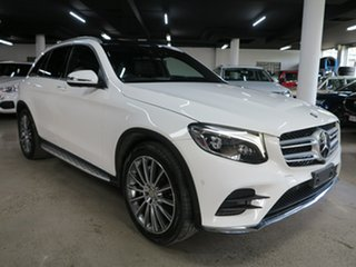 2016 Mercedes-Benz GLC-Class X253 807MY GLC250 d 9G-Tronic 4MATIC White 9 Speed Sports Automatic.