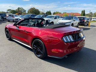 2015 Ford Mustang FM SelectShift Maroon 6 Speed Sports Automatic Convertible