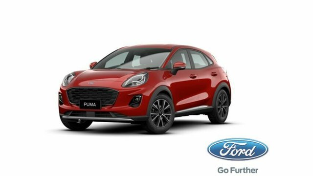 New Ford Puma JK 2020.75MY Puma Cardiff, 2020 Ford Puma JK 2020.75MY Puma Lucid Red 7 Speed Sports Automatic Dual Clutch Wagon