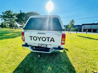 2011 Toyota Hilux KUN26R MY11 Upgrade SR (4x4) White 4 Speed Automatic Cab Chassis