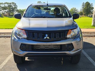 2018 Mitsubishi Triton MQ MY18 GLX+ Double Cab Grey 5 Speed Sports Automatic Utility