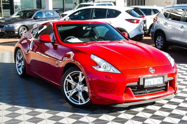 Used Nissan 370Z Z34 Attadale, 2010 Nissan 370Z Z34 Red 7 Speed Sports Automatic Coupe