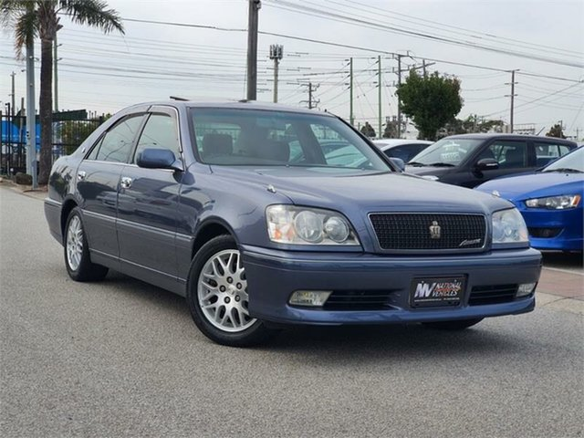 Used Toyota Crown Cheltenham, 1999 Toyota Crown JZS171 Athlete V Blue Automatic Sedan