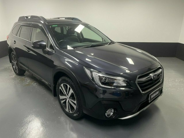 Used Subaru Outback B6A MY18 2.5i CVT AWD Premium Hamilton, 2018 Subaru Outback B6A MY18 2.5i CVT AWD Premium Black 7 Speed Constant Variable Wagon