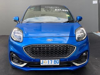 2020 Ford Puma JK 2020.75MY ST-Line V Blue 7 Speed Sports Automatic Dual Clutch Wagon.